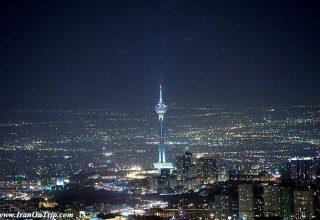 The Roof of Tehran Iran