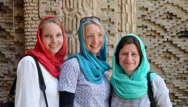 Women Travelers in Iran
