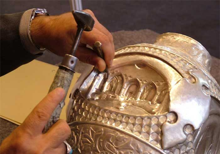 Isfahan Engraving - Qalam Zani - Iranian Art - Persian Art