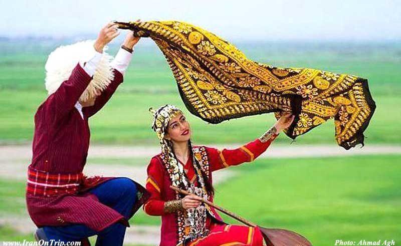 Iranian Nomad in Golestan - Golestan Tourist Attractions