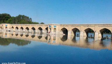 Choobi (Joui) Bridge or Sa'adat Abad Bridge - Historical Bridges of Iran