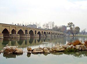 Marnan-Bridge Isfahan Iran - Historical Bridges of Iran