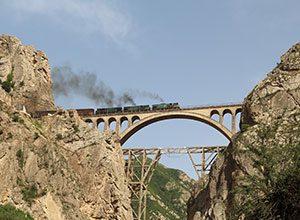 Veresk Bridge - old Bridges of Iran - Historical Bridges of Iran - Historical Veresk Bredge in Savak kooh Mazanderan Iran