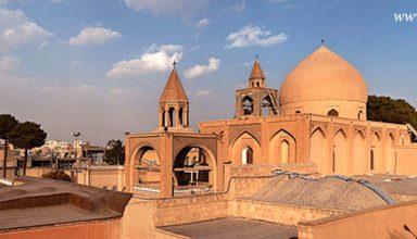 Historical Isfahan Churches - Historical Churches in Iran